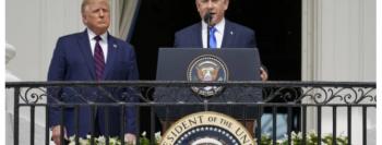 """Netanyahu recita salmos durante Acordo de Abraão: """"Deus abençoe o seu povo com paz"""""""