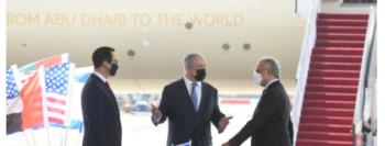 Israel recebe pela 1ª vez uma delegação dos Emirados Árabes
