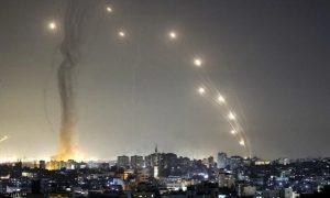 Mais de 1.050 foguetes foram disparados contra Israel, mas quase 90% são interceptados